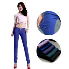 New Stretchy  Fit Ladies Skinny Jeans 1Pcs Coloured Trousers
