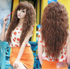 Wavy Party Fashion Full Curly 2016 Long Sexy Cosplay Hair Wigs Womens 3 Colors