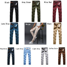 Men's trousers Straight pants Cotton casual pants Multi color Autumn and winter