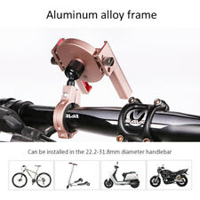 """6.8"""" Ultralight Bicycle Mobile Phone Clip Aluminum Alloy Cell Phone Clip Holder"""