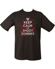 New Keep Calm Shoot Zombies  Unisex T-shirt Zombies Zombie hunter undead