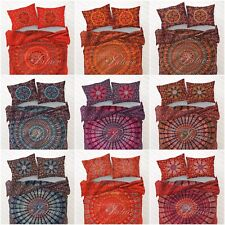 Indian Duvet Doona Cover King Size Hippie Bohemian Mandala Bed Quilt Cover Throw