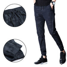 Loose waist feet casual pants Men's trousers Men's sports pants Camouflage