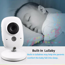 """Wireless Video Baby Monitor 3.2"""" LCD Color Security Camera Talk Night Vision New"""