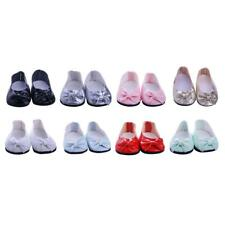 18inch Dolls Shoes for American Girl Our Generation Doll Clothes Sneakers Flats
