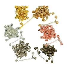 10pcs Jewelry Making Findings Supplies Kit,Lobster Clasp,Crimp Beads,Chains