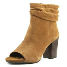 Kenneth Cole Reaction Fridah Cool   Open-Toe Suede  Ankle Boot NWOB