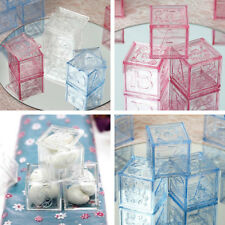 Plastic Blocks Baby Shower Favors Birthday Party Decorations WHOLESALE SALE