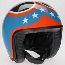 Davida Jet RB New York Open Face Motorcycle Helmet Complex All Sizes