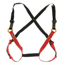 Kids Safety Seat Belt Harness for Rescue Tree Caving Rock Climbing Rappel