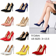 Fashion Women New Stiletto Pointed Toe Shoes Lady Shallow High Heels Pumps Shoes