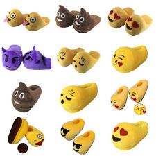 Smile slippers Home cotton shoe Expression cotton slippers Plush furry slippers