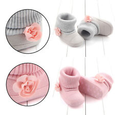 Soft Shoes Booties Boy Girl 0-12M Snow Boots Infant Baby Toddler Kid