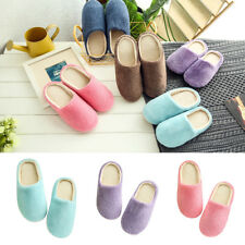 Unisex Winter Warm Soft Home Non-Silp Candy Color Slippers Indoor Shoes Sanwood
