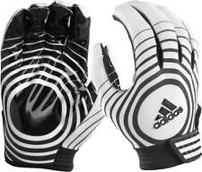 New Adidas Supercharge Receiver Football Gloves Adult Black White Medium DK10