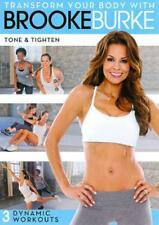 TRANSFORM YOUR BODY WITH BROOKE BURKE: TONE & TIGHTEN USED - VERY GOOD DVD
