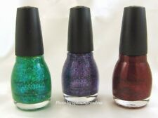 SC Sinful Colors Professional Nail Polish Green Purple Red Clear Coat $4.99-13.