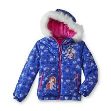 My Little Pony Girl's Puffer Jacket - Hearts Print Size 4/5, New with tag