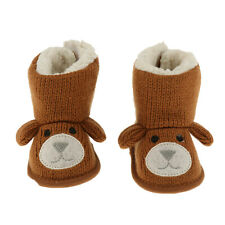 Infant Baby Boy Girl Flower Warm Snow Boots Toddler Kid Soft Shoes Booties 0-12M