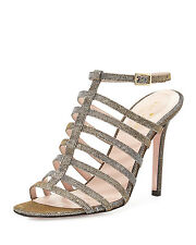 New Kate Spade Womens Delia Too Metallic Sandal, Bronze