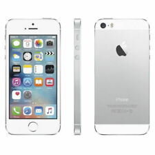 """ Apple iPhone 5S Factory Unlocked GSM Smartphone 16 / 32 / 64 GB - Silver """""""
