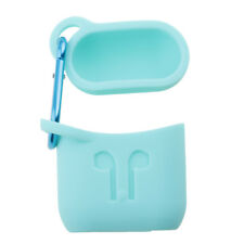 Silicone Carrying Case Shockproof Full Cover with Clasp for Apple AirPods