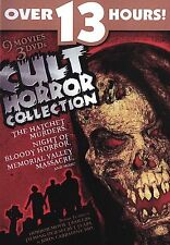 Cult Horror Collection ~ 9 Movies ~ Horror Movies ~ Halloween