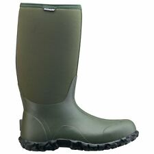 Bogs Classic High Green Mens Rubber Insulated Wellington Tall Rain Boots