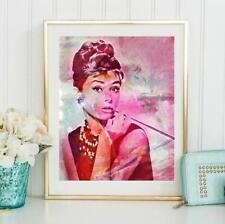 Audrey Hepburn Wall Art  | Lisa Jaye Art Designs