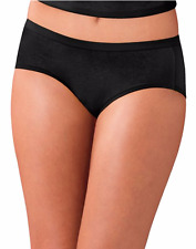 Hanes Women's Cotton Stretch Hipster Panties with ComfortSoft® Waistband 3-Pack