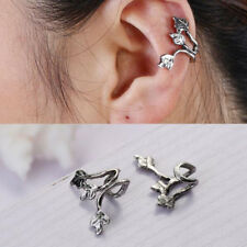 Earring Leaf Ear Cuff 2 Pcs Women Fashion Personality Punk Jewelry No Piercing