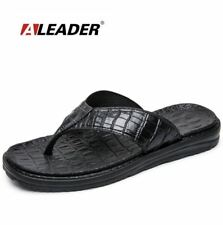 new aleader extremely soft flip flops men sandals beach shoes men high quality