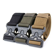 Tactical Belts Military Web Nylon Survival Belts Men Army Military Combat Belt
