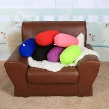 Cushion Roll Microbead Pillow Neck Sleep Back Travel Sofa House Soft Bed Support