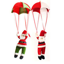Christmas Pendant Home Ceiling Doll Hanging Toy Parachute Santa Claus Decoration