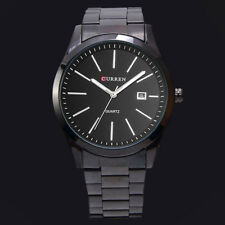CURREN Stainless Steel Mens Sports Date Dial Business Quartz Wrist Watches