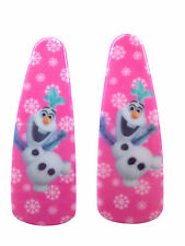 2 x Disney Frozen, Olaf, Minnie Mouse Hair Clips Slides Party Bag Back To School