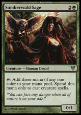 Somberwald Sage MTG Avacyn Restored English Green RARE