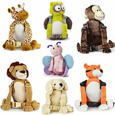 Goldbug 2-IN-1 HARNESS/REINS & BACKPACK ANIMAL BUDDY Toddler Safety Travel