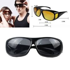 Men's Fashion Wrap Around HD Night Vision Driving Glasses Eyewear As Seen on TV