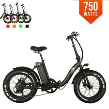 BPM F-15Z 750W 13AH Top Quality Fat Tire 48v Electric Bicycle Folding 20' E Bike