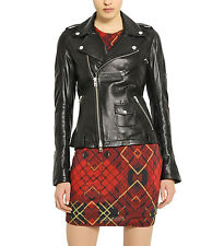 New Original Klassic Trendy Collection Lambskin Leather Jacket For Women W303