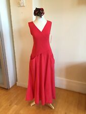 New With Tags Red Luna Luz Sundress With Pockets Size L