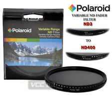 POLAROID 55MM NEUTRAL DENSITY VARIABLE FADER ND FILTER ND6 ND9 ND16 ND32 ND400