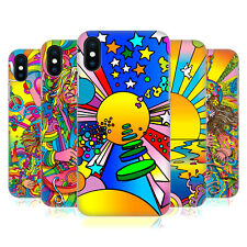 OFFICIAL HOWIE GREEN PSYCHEDELIC HARD BACK CASE FOR APPLE iPHONE PHONES