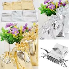 50pcs Drawstring Organza Wedding Xmas Favor Jewelry Pouch Bag 3 Different Size