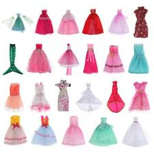 Princess Clothes Gown For Barbie Doll Ball Dress Party Outfits Shoes Cheongsam