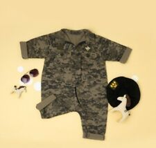 Military Baby Infant Navy Army Air Force Uniform Party Costume Outfit Sets