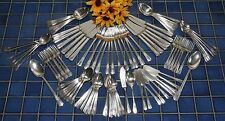 Wm Rogers Overlaid Silverplate DESIRE 1940 Choice Knives Forks Spoons FREE SHIP