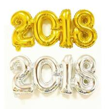 Number 2018 Foil Balloon Helium Balloon Happy New Year Wedding Wall Decoration
